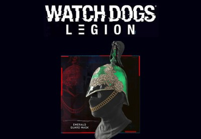 Watch Dogs Legion Emerald Guard Mask PS4 Xbox One