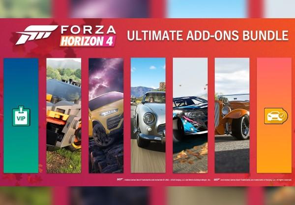 Forza Horizon 4 - Ultimate Add-Ons Bundle DLC US XBOX One / Windows 10 CD Key