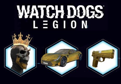 Watch Dogs Legion Golden King Pack PS5 Xbox Series X