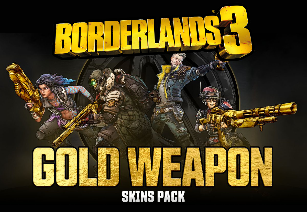 Borderlands 3 Gold Weapon Skins Xbox One