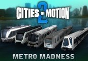 Cities in Motion 2 Metro Madness DLC Steam CD Key