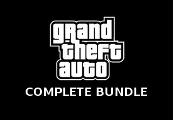 Grand Theft Auto Complete Bundle (including GTA 1 & 2) RoW Steam Gift