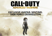 Call of Duty Advanced Warfare Sentinel Task Force Exoskeleton Xbox One