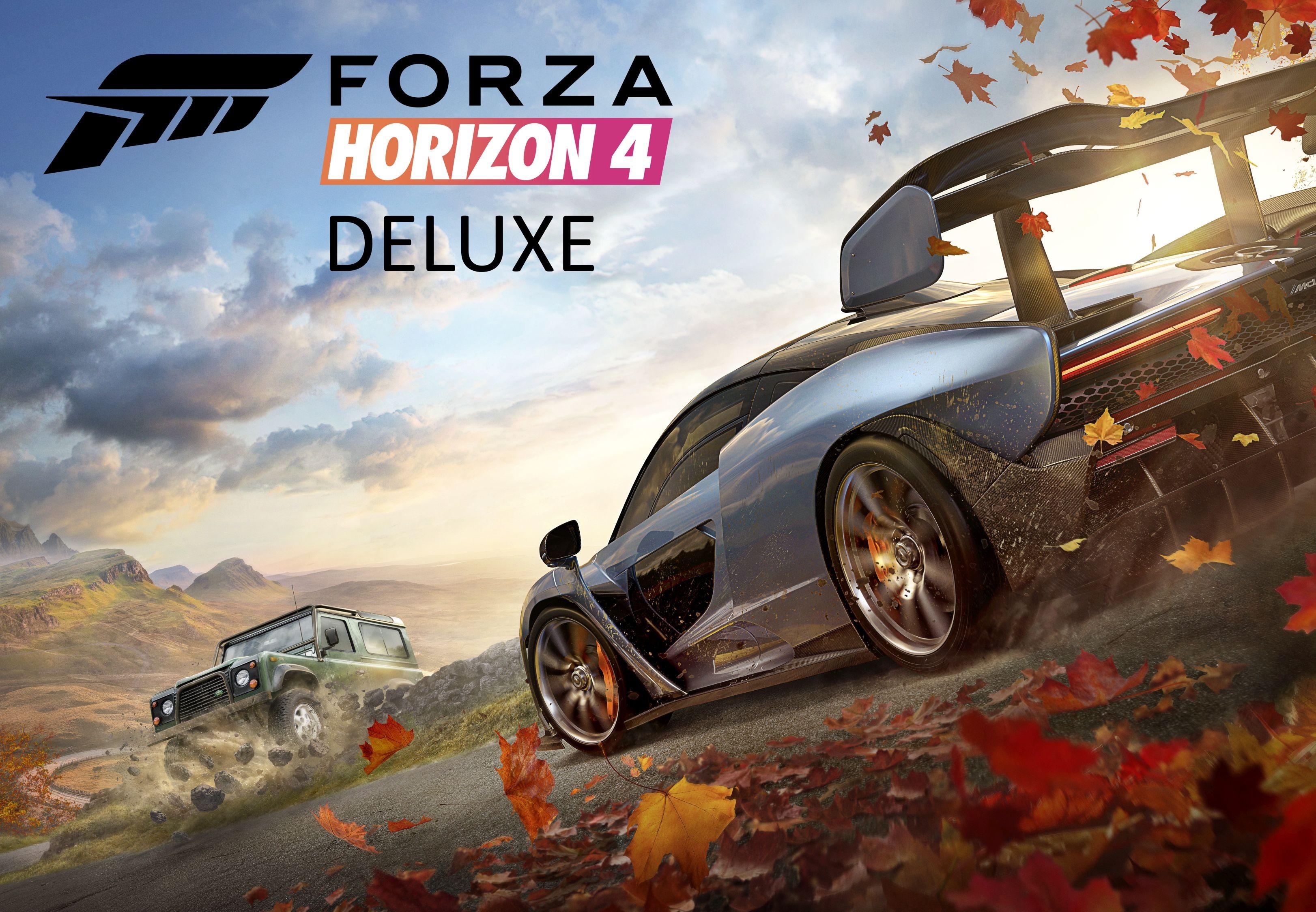 Forza Horizon 4 Deluxe Edition EU XBOX One / Windows 10 CD KEY