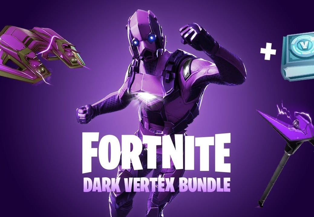 Fortnite Dark Vertex Bundle u. 500 V-Bucks Xbox One