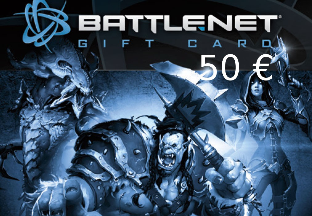 Battle.net Gamecard 50 EUR