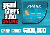 Grand Theft Auto Online - $200,000 Tiger Shark Cash Card FR PS4 CD Key