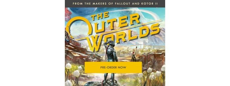 The Outer Worlds PRE-ORDER EU Epic Games CD Key | Kinguin