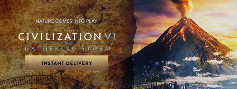 Sid Meier's Civilization VI - Gathering Storm DLC Steam C... | Kinguin