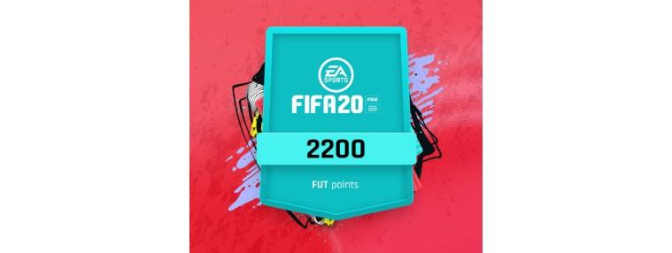 FIFA 20 - 2200 FUT Points Origin CD Key   Kinguin