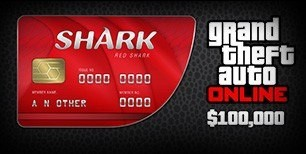 Grand Theft Auto Online - $100,000 Red Shark Cash Card PC Activation Code   Kinguin