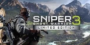 Sniper Ghost Warrior 3 Limited Edition Clé Steam   Kinguin
