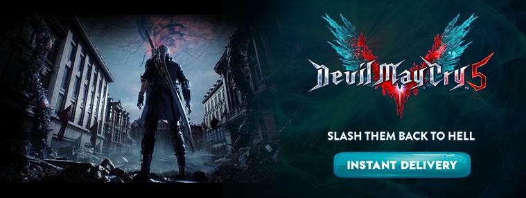 Devil May Cry 5 EU Clé Steam | Kinguin
