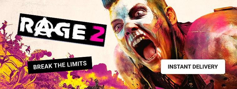 Rage 2 EU Clé Bethesda | Kinguin