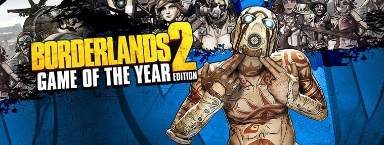 Borderlands 2 Game Of The Year Edition EU Steam Clé | Kinguin