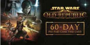 Star Wars: The Old Republic 60-Day Pre-Paid Time Card   Kinguin Brasil   Kinguin