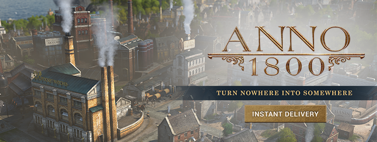 Anno 1800 EMEA Uplay CD Key | Kinguin
