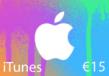 iTunes €15 ES Card