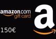 Amazon €150 Gift Card FR