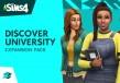 The Sims 4 - Discover University DLC PRE-ORDER Origin CD Key