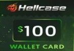 Hellcase.com 100 USD Wallet Card Code