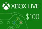 XBOX Live $100 Prepaid Card US