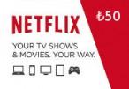Netflix Gift Card ₺50 TR