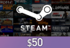 Steam Gift Card $50 Global Activation Code