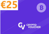 Crypto Voucher (BTC) 25 EUR Key