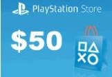Playstation Network Card $50 US