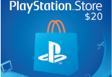PlayStation Network Card $20 US