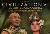 Sid Meier's Civilization VI - Khmer and Indonesia Civilization & Scenario Pack DLC Steam CD Key