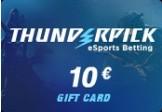 Thunderpick Gift Card - 1000 ThunderCoins - 10 EUR