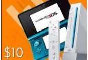 Nintendo eShop Prepaid Card $10 US Key