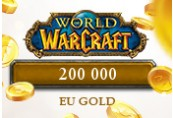 200 000 World of Warcraft EU Gold