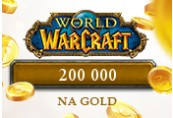 200 000 World of Warcraft NA Gold