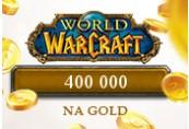 400 000 World of Warcraft NA Gold