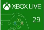 XBOX Live 29 BRL Prepaid Card BR