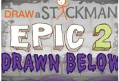 Draw a Stickman: EPIC 2 - Drawn Below DLC Steam CD Key