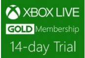 XBOX Live 14-day Gold Trial Membership US