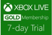 XBOX Live 7-day Gold Trial Membership