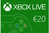 XBOX Live €20 Prepaid Card EU