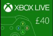 XBOX Live £40 Prepaid Card UK