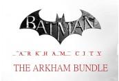 Batman: Arkham City - The Arkham Bundle DLC US PS3 CD Key
