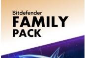Bitdefender Family Pack 2020 International Key (2 Years / 15 Devices)