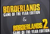 Borderlands 2 GOTY + Borderlands GOTY Steam CD Key