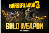 Borderlands 3 - Gold Weapon Skins Pack DLC Epic Games CD Key