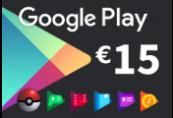 Google Play €15 FR Gift Card