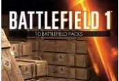 Battlefield 1 - 10 x Battlepacks DLC Origin CD Key