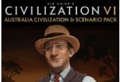 Sid Meier's Civilization VI - Australia Civilization & Scenario Pack DLC Steam CD Key